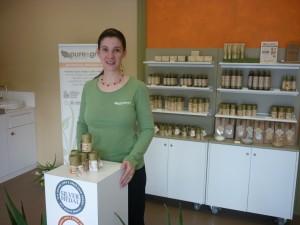 Grace, creator of Pure & Green Organics