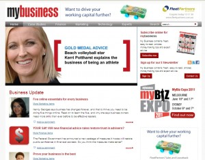 """My Business Article """"Five Online Essentials for Every Business"""" by Nancy Georges"""