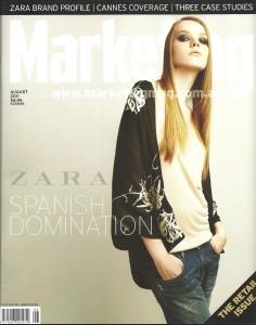 Marketing magazine August 2011