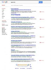 GASP on Google