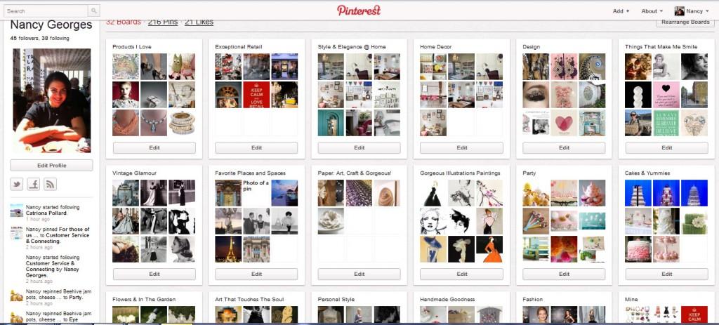 Nancy Georges' Pinterest Boards