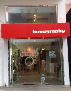 Lomography Store: Sheung Wan Hong Kong