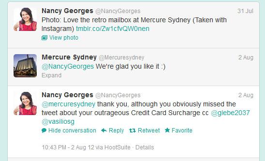 Mercure Hotel, Nancy Georges Retail Miss Fix It
