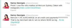 Mercure Sydney, Nancy Georges Retail Miss Fix It
