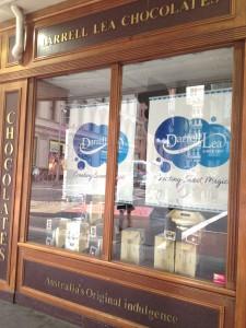 Darrell Lea Store Closed