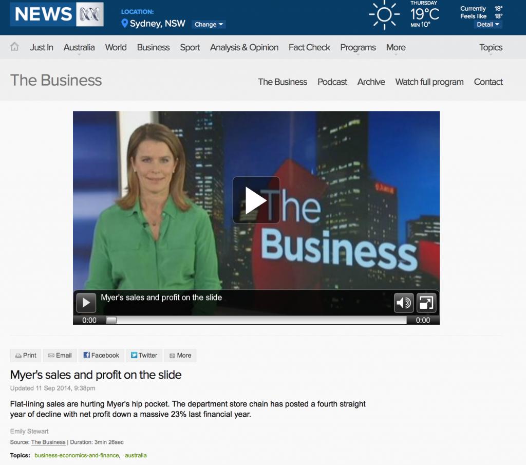 ABC News 24 Emily Stewart Nancy 110914