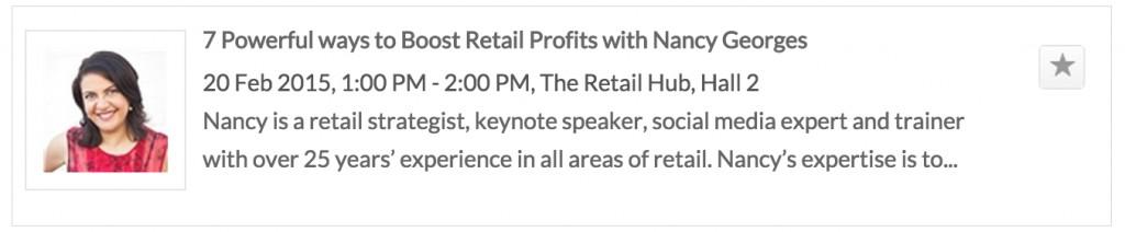 Nancy Georges Retail Hub Feb 2015