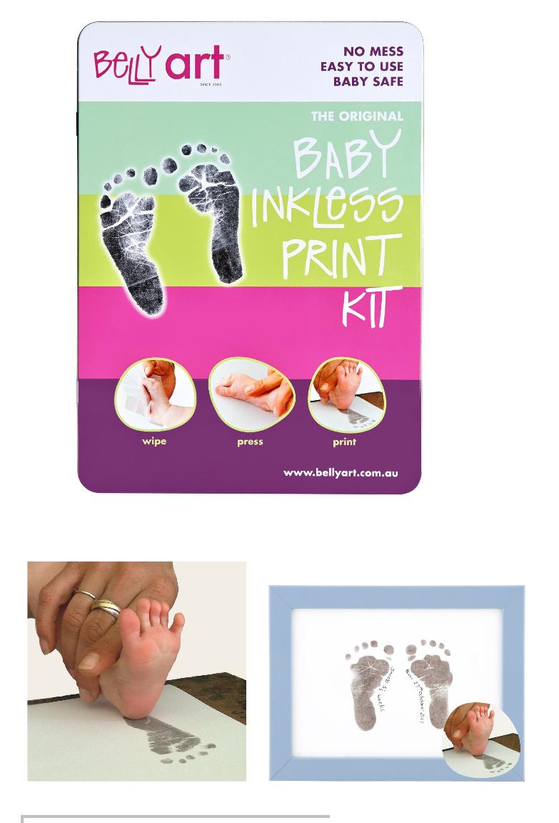 Belly Art Baby Inkless Kit
